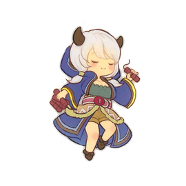[Granblue Fantasy] Die Cut Sticker S Camieux - Character Goods