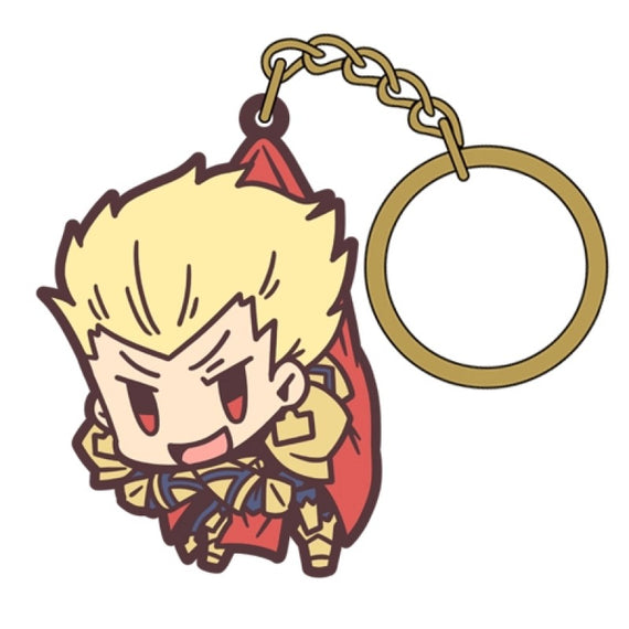 [Fate/Grand Order] Archer/ Gilgamesh TSUMAMARE key chain - Character Goods