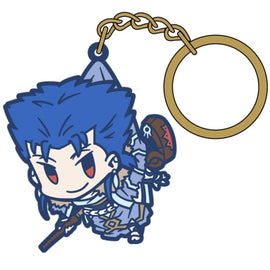 [Fate/Grand Order] Caster/ Cu Chulainn TSUMAMARE key chain - Character Goods
