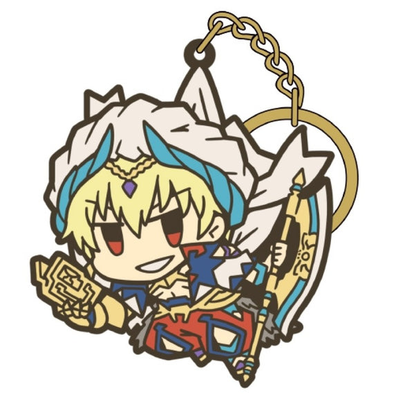 [Fate/Grand Order] Caster Gilgamesh TSUMAMARE key chain- Character Goods
