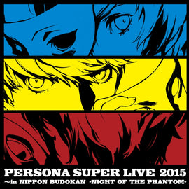 [Persona] Persona Super Live 2015 - in BUDOKAN Night Of The Phantom - CD