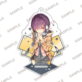 [Hensuki: Are you willing to fall in love with a pervert, as long as she's a cutie?] MF Bunko J Acrylic stand key chain Winter Outfit - Character Goods