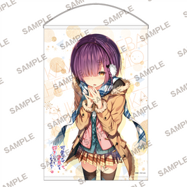 [Are you willing to fall in love with a pervert, even if she's a cutie?] B2 Wall Scroll Winter Version - Wall Scroll