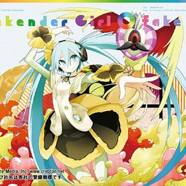 [VOCALOID]CD & DVD - Weekend Girl / fake doll / kz(livetune) x Hachiouji-P