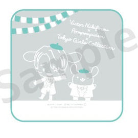 [Yuri!!! on ICE] Hand towel - Victor×PomPomPurin
