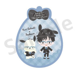 [Yuri!!! on ICE] Pass case - Yuri×Pochacco