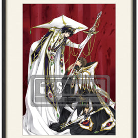 [Code Geass] Fine Art Prints in Frame Lelouch & Suzaku - Fine Art