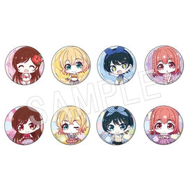 [Rent-a-Girlfriend] Trading Can Badge Chibi Ver. - Blind Box