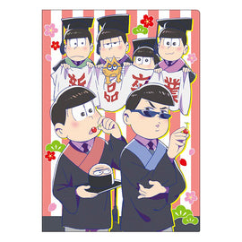 [Osomatsu-san] Clear File Graduation - Character Goods