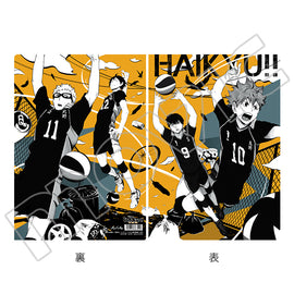 [Haikyu!! TO THE TOP] Clear File Art-Pic Karasuno High School - Character Goods