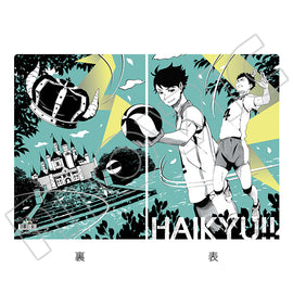 [Haikyu!! TO THE TOP] Clear File Art-Pic Aobajosai Nishi High School - Character Goods