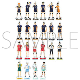 [Haikyu!! TO THE TOP] Mini Acrylic Stand Colle A - Blind Box