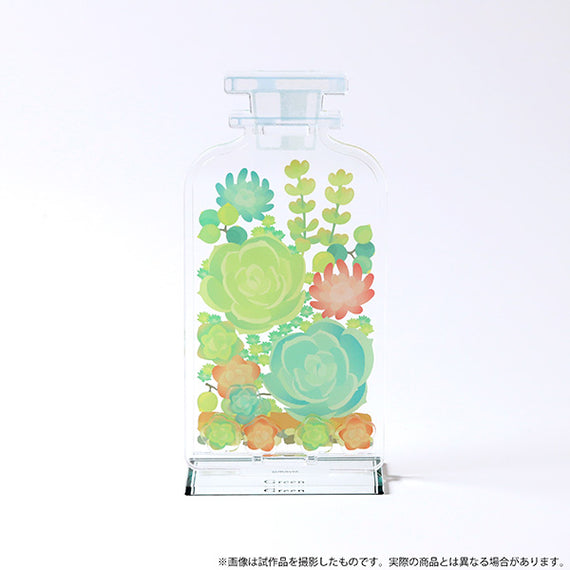 [Customania] Greens Bottle Flowers - Character Goods