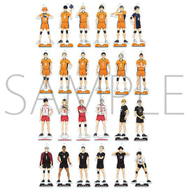 [Haikyu!! TO THE TOP] Mini Acrylic Stand Colle B - Blind Box