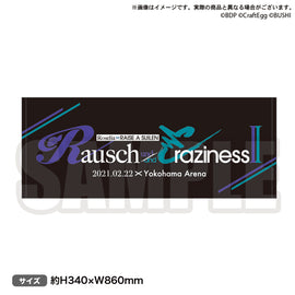 [BanG Dream!] Rausch und/and Craziness II Towel - Character Goods