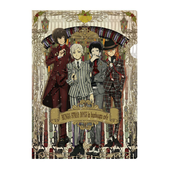[Bungo Stray Dogs] Bunbougu Cafe Clear File Key Visual - Character Goods