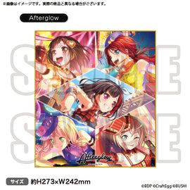 [BanG Dream! Girl's Band Party!] Shikishi Board Afterglow - Character Goods