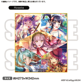 [BanG Dream! Girl's Band Party!] Shikishi Board Roselia - Character Goods