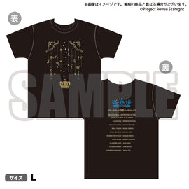 [Revue Starlight] T-Shirt The LIVE #2 revival L Size - T-Shirt