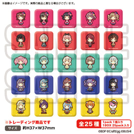 [BanG Dream!] 8bit Dot Square Can Badge - Blind Box
