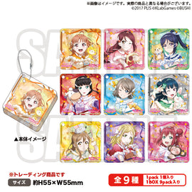 [Love Live! Sunshine!!] Trading Square Acrylic Key Holder - C97 Exclusive Item