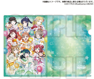 [Love Live! Sunshine!!] Clear File Winter 2019 Ver. - C97 Exclusive Item