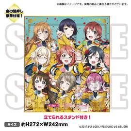 [Love Live! ALL STARS] Shikishi Board Nijigasaki High School Idol Club - Character Goods