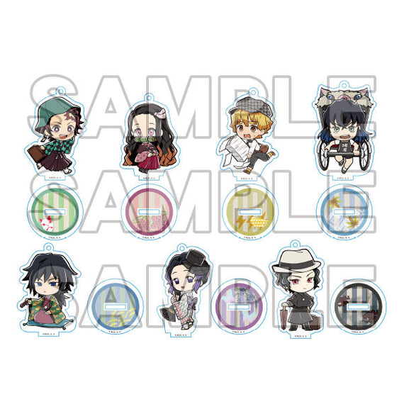 [Demon Slayer] Only Shop Acrylic Charm w/ Base - Blind Box