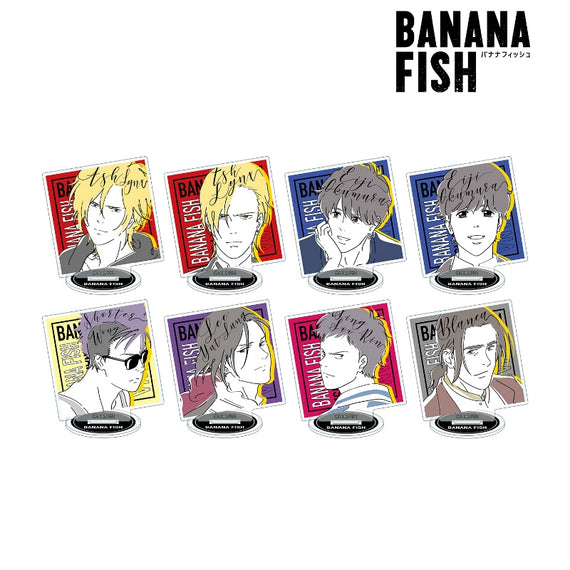 [BANANA FISH] lette-graph Acrylic Stand - Blind Box w/ animate Exclusive Bonus