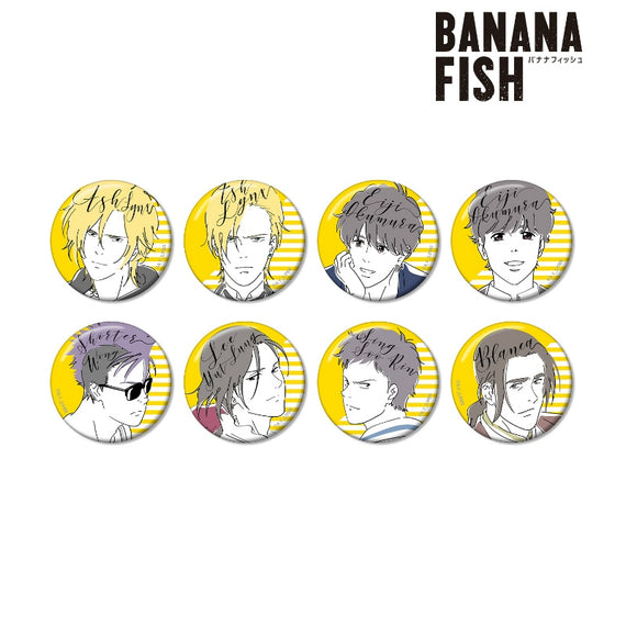 [BANANA FISH] lette-graph Can Badge - Blind Box w/ animate Exclusive Bonus