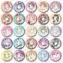 [BanG Dream!] Ani-Art Trading Can Badge 2020 ver. - Blind Box