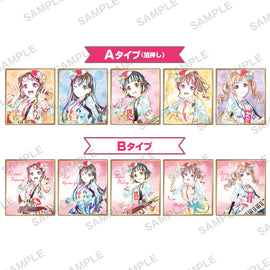 [BanG Dream!] Ani-Art Mini Shikishi/Poppin'Party 2020 ver. - Blind Box