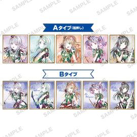 [BanG Dream!] Ani-Art Mini Shikishi/Roselia 2020 ver. - Blind Box