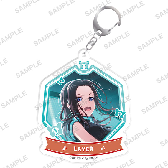 [BanG Dream! GBP!] Acrylic Keychain animate v.3 / LAYER - Character Goods
