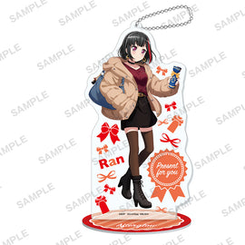 [BanG Dream! Girls Band Party!] Acrylic Stand Keychain Present ver. / Ran Mitake - Character Goods