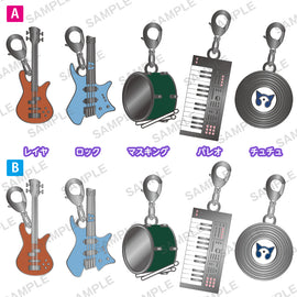 [BanG Dream! Girls Band Party!] Trading Charm Collection / RAISE A SUILEN (Singles) - Blind Box