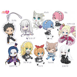 [Re:Zero -Starting Life in Another World-] Petanko Acrylic Strap vol.2 - Blind Box