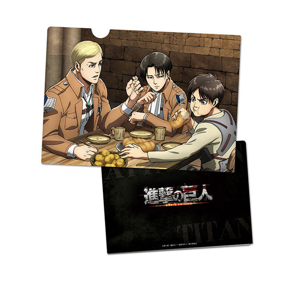 [Attack on Titan] Clear File D - Character Goods