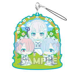 [Re:ZERO-Starting Life in Another World] Rubber Strap RICH series - Character Goods