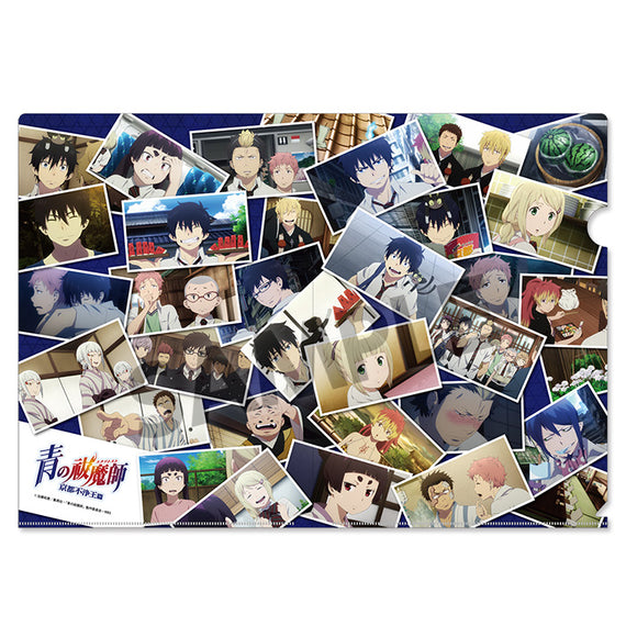 [Blue Exorcist] Kyoto Impure King Clear File B - Character Goods