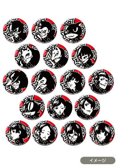 [Persona 5] Trading Icon Can Badge - Blind Box