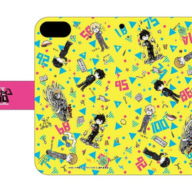 [Mob Psycho 100 Ⅱ] Graff Art Chara Pattern Design iPhone Case - Character Goods