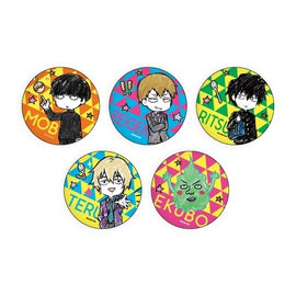 [Mob Psycho 100 Ⅱ] Graff Art Can Badge Collection - Blind Box