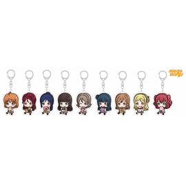 [Love Live! School Idol Project] Mogu Mogu Aqours Acrylic Keyholder- Blind Box