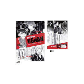 [Case Closed] Red Clear File Folder - Character Goods