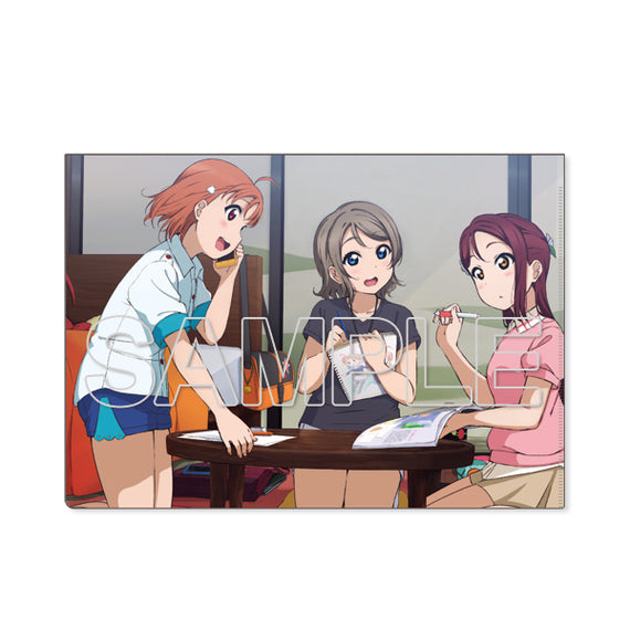 [Love Live! Sunshine!!] Clear File Aqours 2nd Years Ver.2 - Character Goods