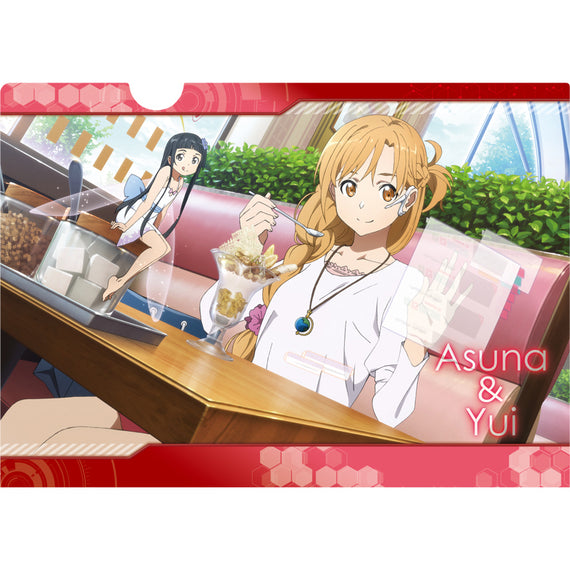 [Sword Art Online] Ordinal Scale Clear File B Asuna & Yui - Character Goods