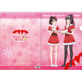 [Saekano -How to Raise a Boring Girlfriend-] Clear File Santa Outfit - Character Goods