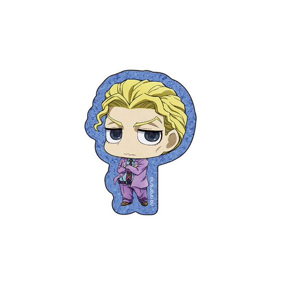 [Jojo's Bizarre Adventure Part 4] Laminated Acrylic Badge Kira Yoshikage - Character Goods
