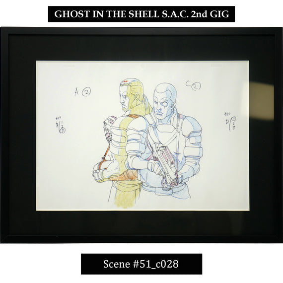 [Ghost in the Shell S.A.C. 2nd GIG] Key Art Reproduction/ Scene 51_c028 - Fine Arts